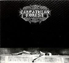 CARPATHIAN FOREST black shining leather SNAKESKIN DIGIPAK SIGNED by NATTEFROST