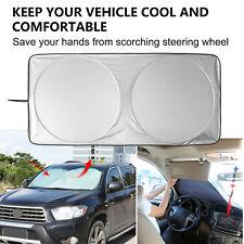 Car Foldable Windshield Visor Cover Front Rear Block Window Sun Shade 150x70cm