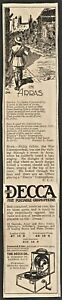"DECCA GRAMAPHONE original 1919 Punch advert ""In Arras"""