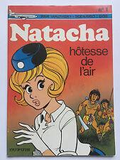 NATACHA N°1: HOTESSE DE L'AIR ... WALTHERY / GOS ... 1/1983