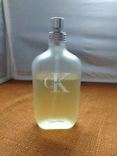Calvin Klein cK One Eau de Toilette 6.7 fl. oz. Made in USA Unisex Fragrance