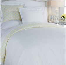 Minnie Driver Hampshire 3-piece Cotton Duvet Set, Yellow, Size Full/Queen