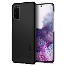 Samsung Galaxy S20, S20 Plus, S20 Ultra Case | Spigen® [Thin Fit] Black