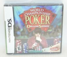 Nintendo DS WORLD CHAMPIONSHIP POKER Deluxe Series SEALED Crave '04 Official New