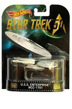2016 Retro Hot Wheels Star Trek 50 U.S.S. Enterprise NCC-1701