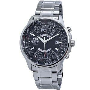 Orient Multi- Year Perpetual Black Dial Men's Watch FEU07005BX