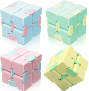 Kids Sensory Infinity Cube Fidget Toy Stress Relief Gift Game For Autism Anxiety