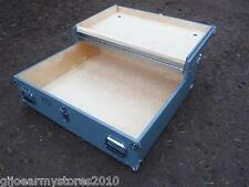 NEW Military Foot Locker Under Bed Storage Blanket Memory Box Bedroom Furniture
