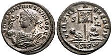 CONSTANTINE II (320 AD) Rare Follis. Siscia #KA 6873