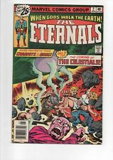 The Eternals #'s 2,4,5, & #6 comics from 1976.Jack Kirby story.Only $9.95!