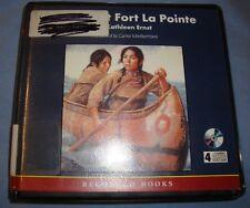 AUDIOBOOK:  'Trouble At Fort La Pointe'  By Kathleen Ernst  4 CD Set  Ex-Lib  C5