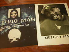 Method Man Press Kit 1998 Tical 2000 Judgement Day Hip Hop Rap