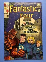 Fantastic Four #45-1st appearance of The Inhumans - Lockjaw Key -(1965)