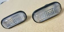 33801-S2A-J02 33851-S2A-J02 00-09 S2000 OEM HONDA CLEAR SIDE MARKER LIGHTS PAIR