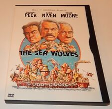 The Sea Wolves  Gregory Peck David Niven Roger Moore (DVD, 1999) WS/FS 1980