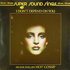 "12"" Maxi - Arlene Phillips' Hot Gossip - I Don't Depend On You - B75"