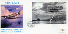 Kiribati 2008 FDC RAF Royal Air Force 90 1v M/S Cover Dambusters Aviation Stamps