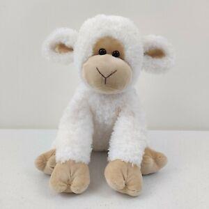 Gund Animal Alley Lamb Plush Sheep White Tan Toys R Us Stuffed Toy 2009