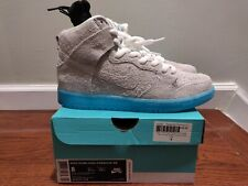 sale retailer bcc0c 33ab7 New 2014 Nike Dunk High Premium SB CHAIRMAN BAUHAUS BAO WHITE POLARIZED  BLUE 8