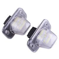 2x LED Kennzeichenleuchte für VW Transporter T4 Caddy Kennzeichenbeleuchtung