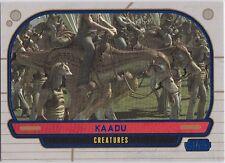 STAR WARS GALACTIC FILES SERIES 1 BLUE PARALLEL #297 KAADU 013/350