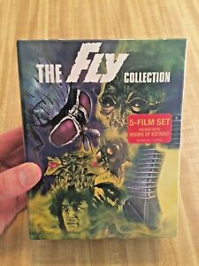 THE FLY COLLECTION 5 film set Blu-Ray Brand New Factory Sealed