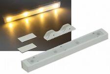 LED Schubladenleuchte Warmweiß mit Vibrationssensor Batteriebetrieb 21240