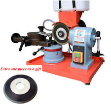 110V Electric Circular Saw Blade Sharpener Water Injection Grinder Machine +Gift