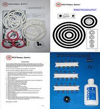 1979 Brunswick/Briarwood Aspen Pinball Tune-up Kit - Includes Rubber Ring Kit