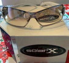 Solar X Eyewear PD03 UV400 Metal Frame Sunglasses NEW W// Bag