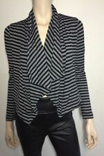 metalicus Striped Cardigans for Women