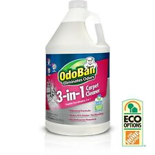 NEW ODOBAN 3-IN-1 CARPET CLEANER FRAGRANCE-FREE STEAM CLEANING LIQUID DETERGENT