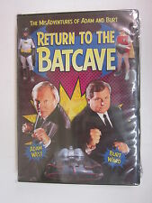 Return To The Batcave: Misadventures Of Adam West &Burt Ward DVD 2003 Fox NEW