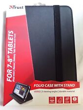 "TRUST TABLET CASE FOR APPLE/SAMSUNG/ACER/GOOGLE/KINDLE 7-8"". BRAND NEW. 19703"