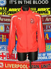 5/5 Fauldhouse United F.C. adults S mint football training jacket top