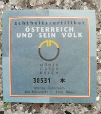 1 x Österreich 500 Schilling Silber 1993 Die Seenregion Echtheitszertifikat