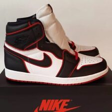 Nike Air Jordan 1 Retro High OG Bloodline UK 12 US 13 EUR 47.5 Black Gym Red Whi