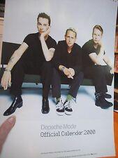 2000 Depeche Mode Official Calendar
