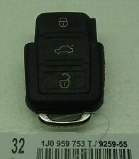 oem VW 98-01 beetle golf jetta 01 passat 1J0959753T REMOTE 3 button 2001