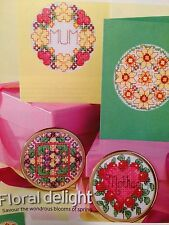 Mothers Day 40 Floral Cross Stitch Charts