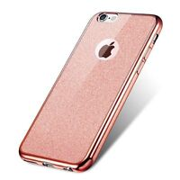 Bling Glitter Clear Silicone Cases for iPhone 7-Plus Detachable Ultra Thin Skin
