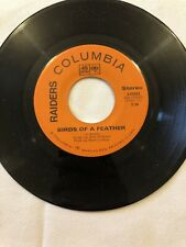 "The Raiders(Paul Revere) - Birds Of A Feather - Canadian 7"" single"