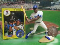 1991 BO JACKSON Starting Lineup (SLU) Baseball Figure, Coin & Card - ROYALS