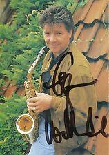 Egon Wellenbrink   Musik Autogrammkarte original signiert 307036