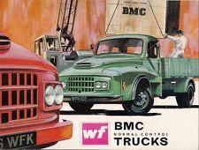 BMC WF Series Normal Control Truck 1968 UK Market Sales Brochure