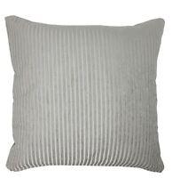 chenille brodé gris argenté 43.2cm - 43cm Housse de coussin