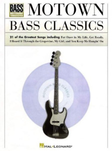 Hal Leonard Publishing Corp...-Motown Bass Classics BOOK NEUF