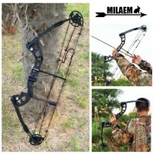 """38"""" Compound Bow 30-55lbs Metal Archery Adjustable 70% Practice Target Hunting"""