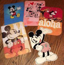 5 Hallmark Mickey Mouse Blank Note Cards - NWT