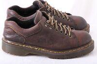 Dr Martens DOC 8312 Brown Leather Lace Up Plain Toe Oxfords Men's US 6.5 UK 6